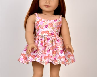 18 inch doll dress Spaghetti straps