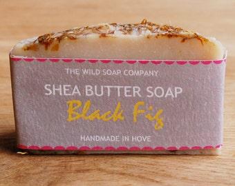Handmade Black Fig Shea Butter Soap