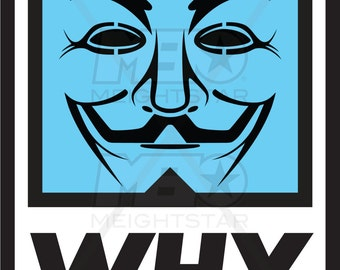 WHY POSTER - Obey Parady