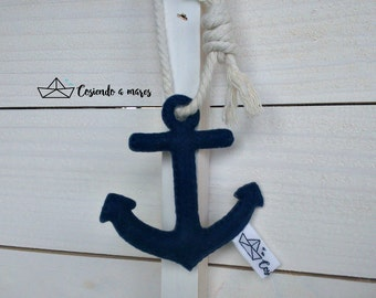 Felt pendant anchor