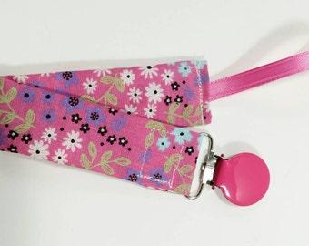 Pacifier clip - Binky clip - pacifier leash - baby shower gift