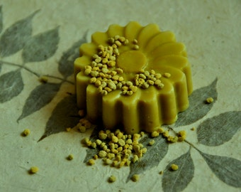 Organic Acne Pollen Soap set of 2 (may choose any 2  soaps available)