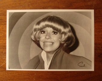 "Vintage Carol Channing photo, headshot, 8"" x 10"" glossy"