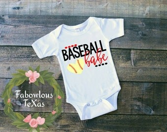 Baseball Babe Shirt/Onesie