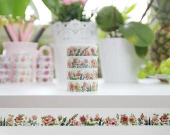 Washi Tape Floral WTJ-03