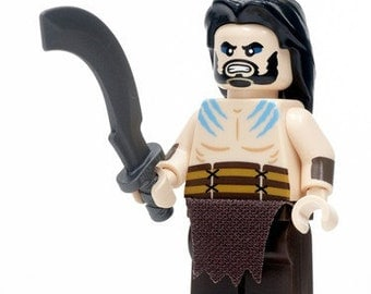 Khal Drogo Game of Thrones Custom Minifigure 100% Lego Compatible!