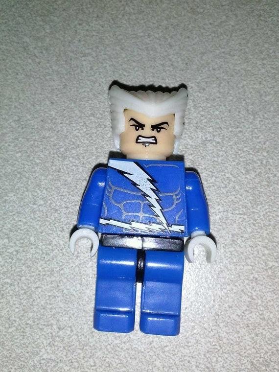 QUICKSILVER Custom Minifigure 100% LEGO by MinifiguresandMore