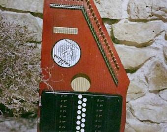 Chord harp autoharp