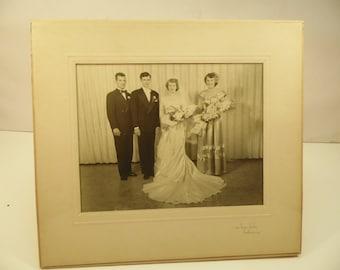 Vintage Wedding Photograph Fredonia NY