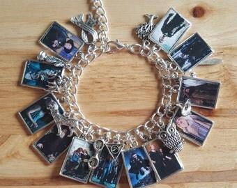 Handmade Harry Potter charm bracelet