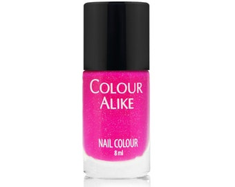 615 THINK PINK! - holographic-neon nail polish