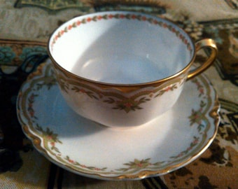 Free Shipping Haviland & co Limoges Cup and Saucer