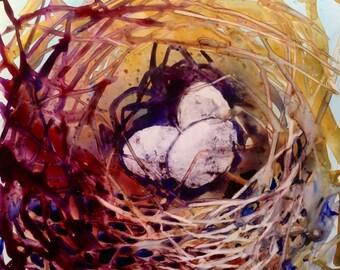"Nest Series #15 10"" x  13"""