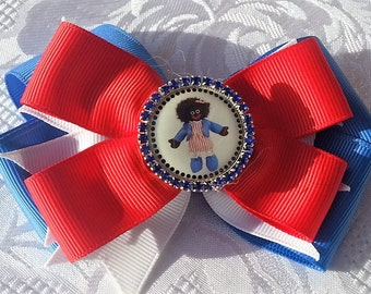 Gollywog red,white & blue