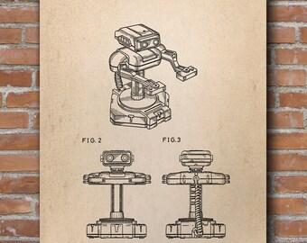 Robot Patent Print, Toy Robot, Robot Wall Art, Retro Toys, Patent Poster - DA0536