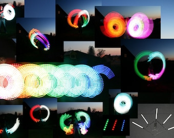 Multicolor RGB LED Fans!!! Create your Light show with IR remote controll