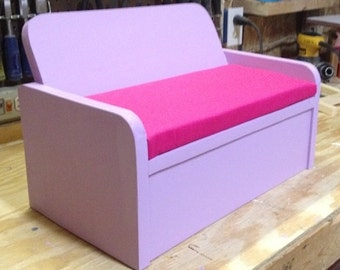 Wooden Doll Couch