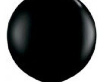 Giant Black Balloon, Jumbo 90cm Balloon, Jumbo 3FT Balloon, Party Balloon, Halloween Balloon, New Years Eve Party, Wedding Decorations