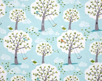 Michael Miller Backyard Baby Windy Day Fabric. Children Fabric.