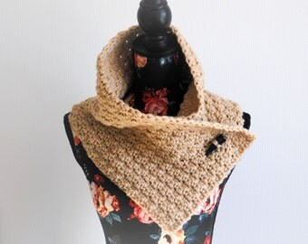 Versatile Crochet Cowl 'The Afternoon Cowl'