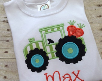 Easter shirt for boys - Easter tractor shirt - Boy Easter outfit - Baby boy Easter outfit - Easter outfit boy - Boys Easter shirt