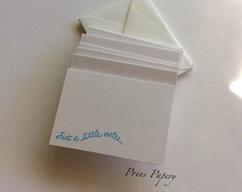 Just A Little Note Mini Note Cards Set 10