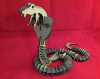3D Puzzle Cobra ( stock clearance )