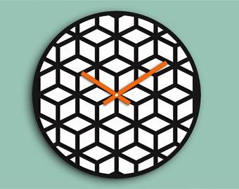 Hexagon clock Etsy