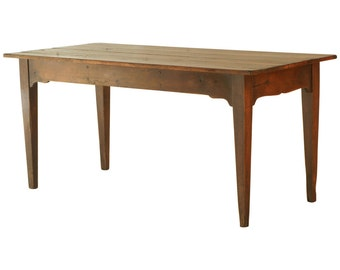 550 Small Farmhouse Table With Authentic Finish