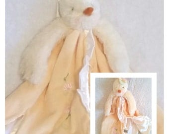 Bunnies By The Bay - Blooming Buddy- Personalised- Security Blanket - Best friend Emmie - Duck