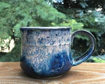 Handmade Pottery Mug, Wheel Thrown Ceramic Mug