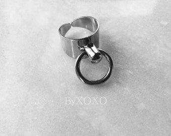Silver Cuff Ring