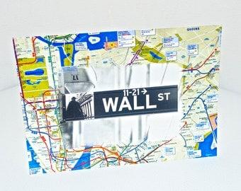 Wall Street Image NYC GREETING CARD