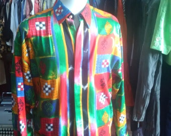 Cotton shirt vintage Versus Versace