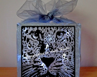Leopard Face Vinyl Design