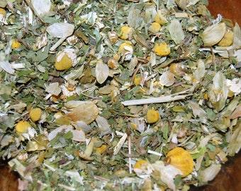 PEACEFUL MOMENTS Herbal Tea- Relaxation, Sleep. Organic Herbal Sleep Tea Blend with Healthy Organic Decaffeinated Green Tea.