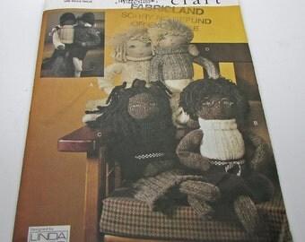 Vogue Craft  7535 Uncut  Sewing Pattern Sock Dolls Linda Carr