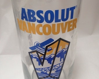 Absolut Vancouver Vodka Bottle 750ml RARE- Limited Edition Empty