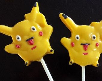 Pokemon Chocolate Lollipop Party Favors