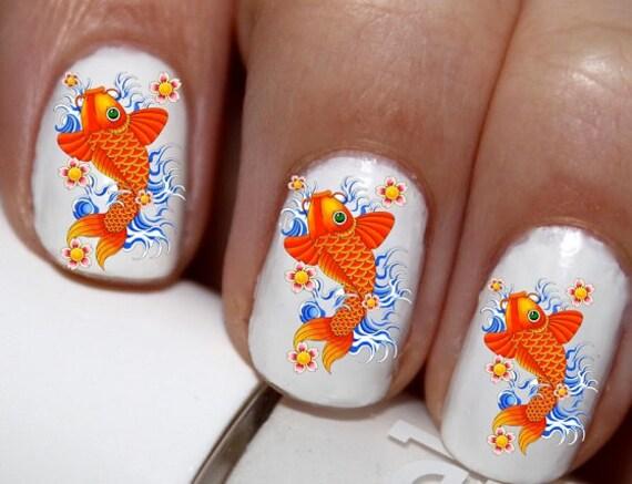 20 pc koi fish good luck koi fish chinese koi fish nail art for Koi fish good luck