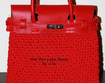 birkin bag to crochet
