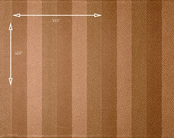 Vintage Wallpaper Paloma Picasso Stripe Dots Tonal Brown Tan