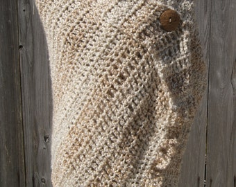 Audrey Shawl/Wrap- Pearl