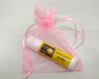 All Natural Lemon Jojoba Oil Lip Balm