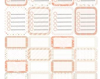 Nana Orange Dreamsicle Full and Half Boxes