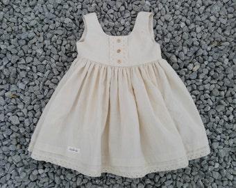 Gorgeous calico babydoll dress