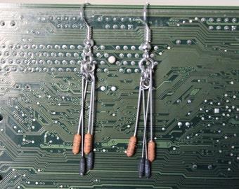 Resistor Earrings
