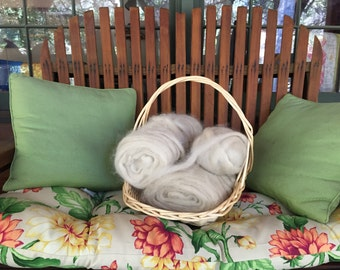 Pygora Goat Fiber-Processed and ready for spinning or weaving