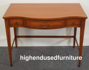 "MOGANTON Mahogany 38"" Vanity / Dressing Table"
