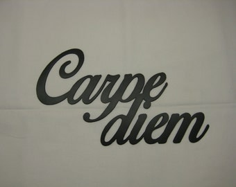 Carpe diem Metal Wall Decor